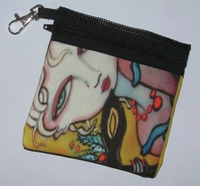 Masquerade Ball Zippered Pouch