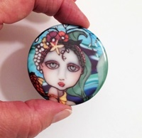 "2"" Round Mermaid Cab"
