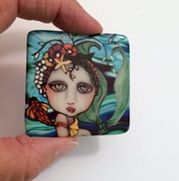 Mermaid  Cabochon