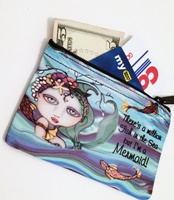 Mermaid with Quote Coin Purse