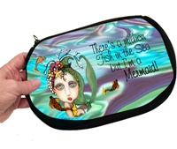 Mermaid Cosmetic Bag Large