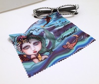 Mermaid with Quote Lens Cloth