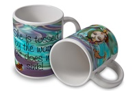 Mermaid Quote Mug