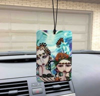 Mermaids Car Air Freshener