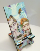 Mermaids Painted Lady Phone Stand Docking Station
