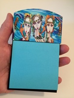 Mermaids Sticky Note Holder