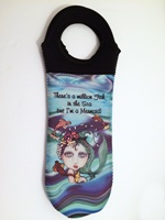I'm a Mermaid Wine Tote