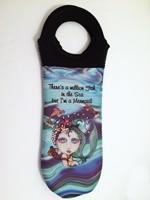 I'm a Mermaid Wine Tote