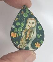 Mystical Owl teardrop