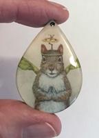 Mystical Squirrel tear drop