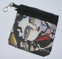 Nevermore Zippered Pouch