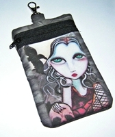 Night Friends Cell Phone Bag