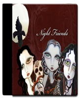 Night Friends iPad Case
