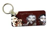 Night Friends Key Tag