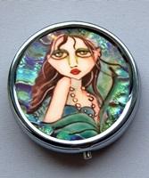 Oceans Blue Mermaid Pill Box