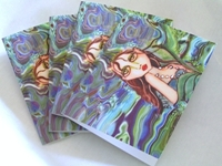 Ocean Blue Mermaid Note Card