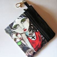 Once Upon A Time Zippered Pouch
