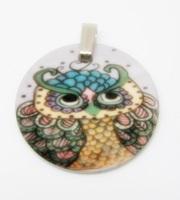 Owl 7 Charm