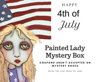 Painted Lady 4th Of July Mystery Box