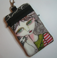 Peppermint Patti IPhone Bag