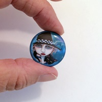 Peppy 1 Inch Magnet