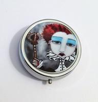 Red Queen Pill Box