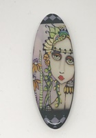 Spring Goddess long oval