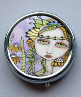 Spring Goddess Pill Box