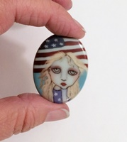 Stars and Stripes Cameo