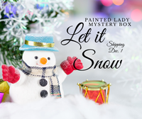 Let It Snow Painted Lady Mystery Box