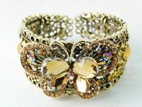 Topaz Butterfly Bracelet