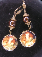 Victorian Angel Earrings