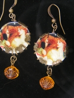 Victorian Lady Dangle Earrings