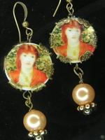 Victorian Lady Dangle Earrings II