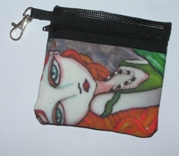 Whispers Zippered Pouch