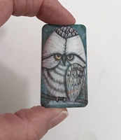 White Owl Domino