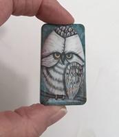 White Owl Domino