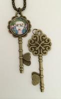 Wisdom Skeleton Key Necklace