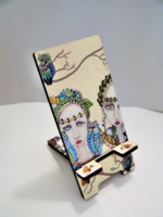 Wisdom Owls Painted Lady Phone Stand Docking Station