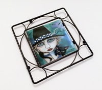 Painted Lady Trivet